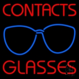 Contact Glasses LED Neon Sign