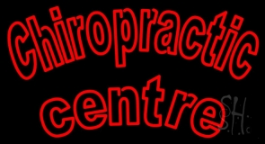 Double Stroke Chiropractic Center LED Neon Sign