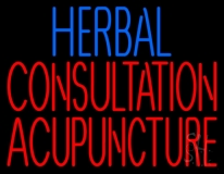 Herbal Consultation Acupuncture LED Neon Sign