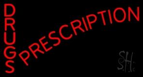 Drugs Prescription LED Neon Sign