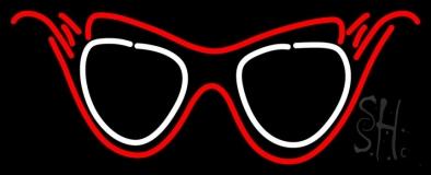 Funky Glasses LED Neon Sign