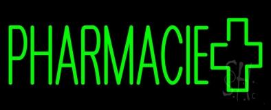 Green Pharmacie Logo LED Neon Sign