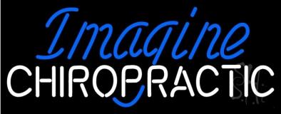 Imagine Chiropractic LED Neon Sign