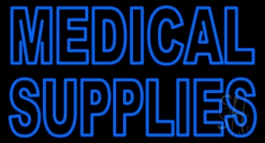 Medical Supplies LED Neon Sign