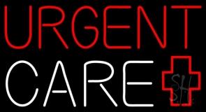 Red Urgent Care Plus Logo LED Neon Sign