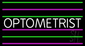Simple Optometrist LED Neon Sign