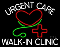 Urgent Care Walk In Clinic LED Neon Sign
