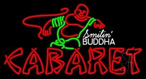 Double Stroke Cabaret Logo LED Neon Sign