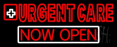 Double Stroke Urgent Care Now Open LED Neon Sign