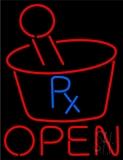 Pharmacy Logo Open LED Neon Sign