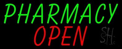 Pharmacy Open Neon Sign