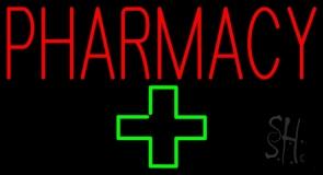 Pharmacy Plus Logo LED Neon Sign