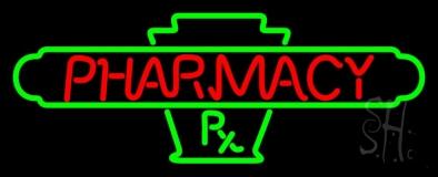 Red Pharmacy LED Neon Sign