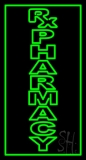 Vertical Rx Pharmacy LED Neon Sign