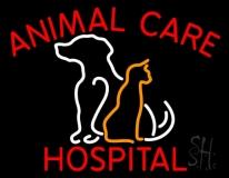 Animal Care Hospital Logo LED Neon Sign