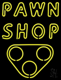 Double Stroke Pawn Shop LED Neon Sign