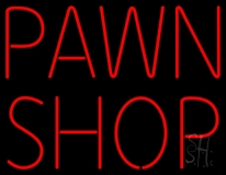 Pawn Shop 1 LED Neon Sign