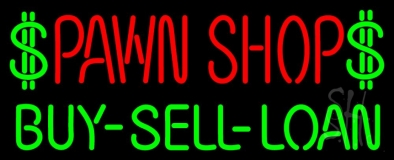 Pawn Shop Buy Sell Loan LED Neon Sign