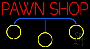 Pawn Shop Logo LED Neon Sign