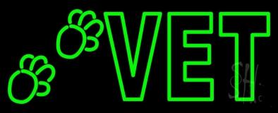 Double Stroke Vet LED Neon Sign