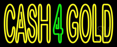 Cash 4 Gold LED Neon Sign