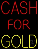 Cash For Gold LED Neon Sign