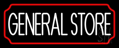 General Store LED Neon Sign