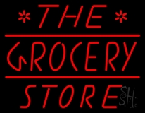 The Grocery Store LED Neon Sign