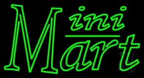Green Mini Mart LED Neon Sign