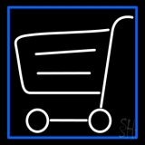 Grocery Trolly Logo LED Neon Sign