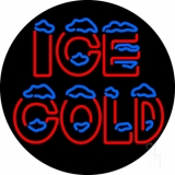Ice Cold LED Neon Sign