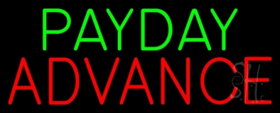 Payday Advance LED Neon Sign