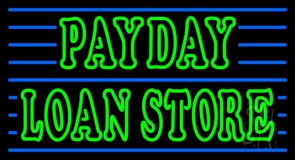 Payday Loan Store LED Neon Sign