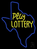 Play Lottery LED Neon Sign