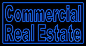 Commercial Real Estate LED Neon Sign