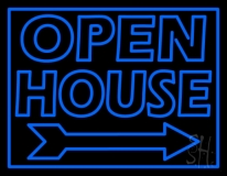 Open House Real Estate Decor LED Neon Sign