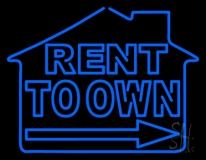Rent To Own LED Neon Sign
