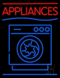 Appliances With Washing Machine Logo LED Neon Sign