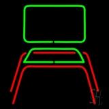 Chair Logo LED Neon Sign
