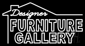 Design Furniture Gallery LED Neon Sign