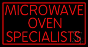 Microwave Ovan Specialist LED Neon Sign