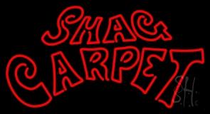 Shag Carpet LED Neon Sign