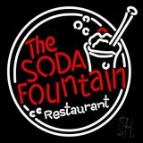 The Soda Fountain Restaurant LED Neon Sign