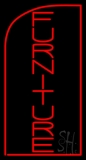 Vertical Furniture Sale LED Neon Sign