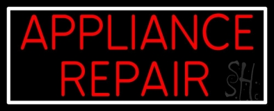 Appliance Repair 1 LED Neon Sign