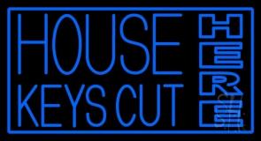 House Keys Cut Here LED Neon Sign