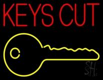 Keys Cut LED Neon Sign