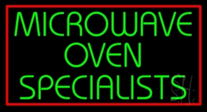 Microwave Ovan Specialist 1 LED Neon Sign