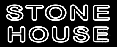 Stone House LED Neon Sign