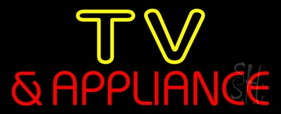 Tv And Appliance 2 LED Neon Sign